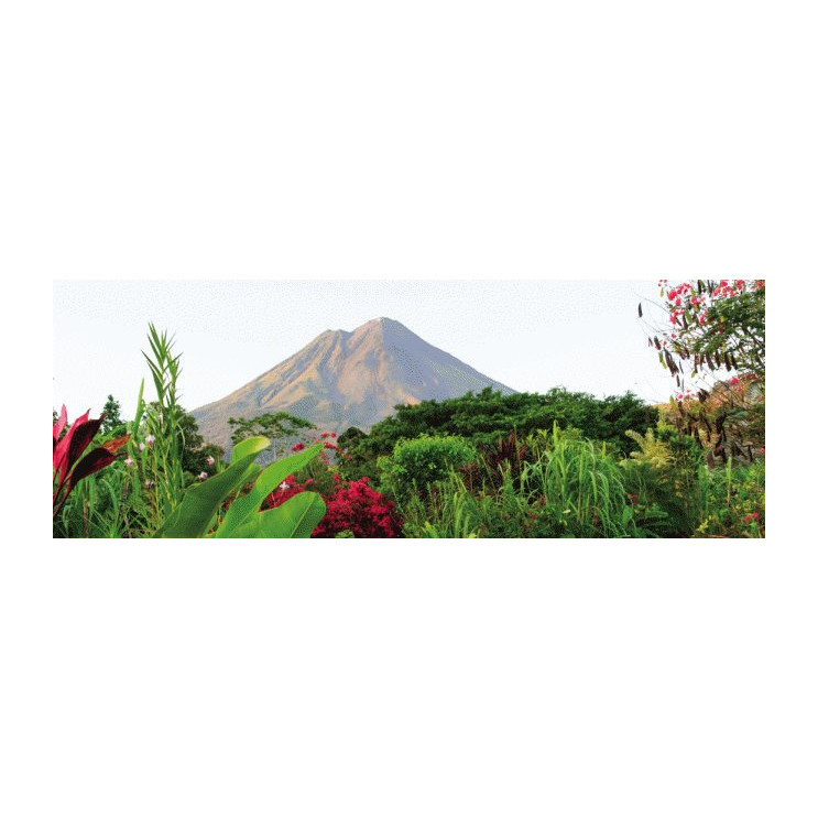 Costa Rica de volcanes, montañas y playa