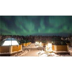 Auroras Boreales e Iglús