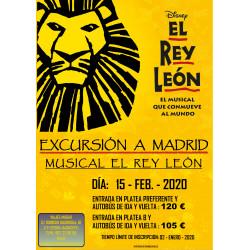 MUSICAL REY LEON