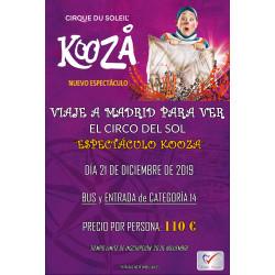 "EL CIRCO DEL SOL ""ESPECTACULO KOOZA"""