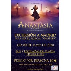 MUSICAL ANASTASIA 09/05/2020