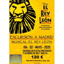 MUSICAL REY LEON 02/05/20